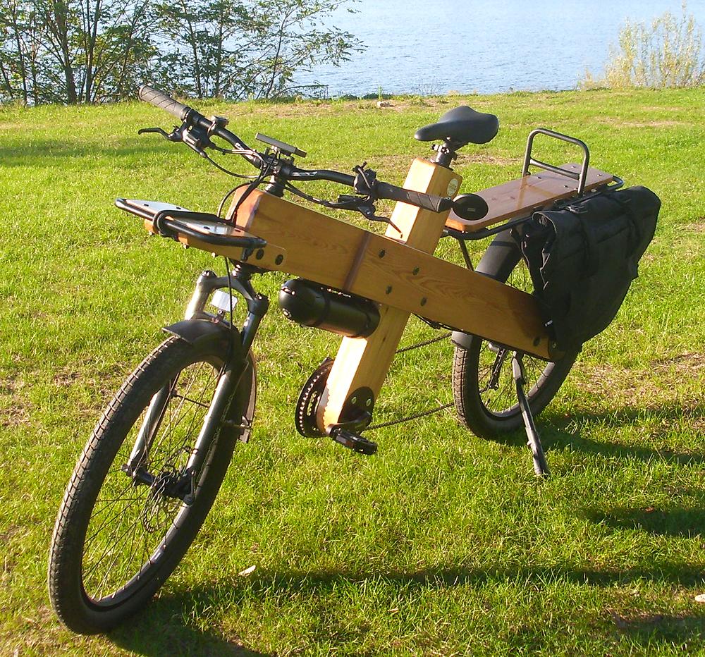 Elektro-Fahrrad Woodi - Das Lastenrad zum selber bauen