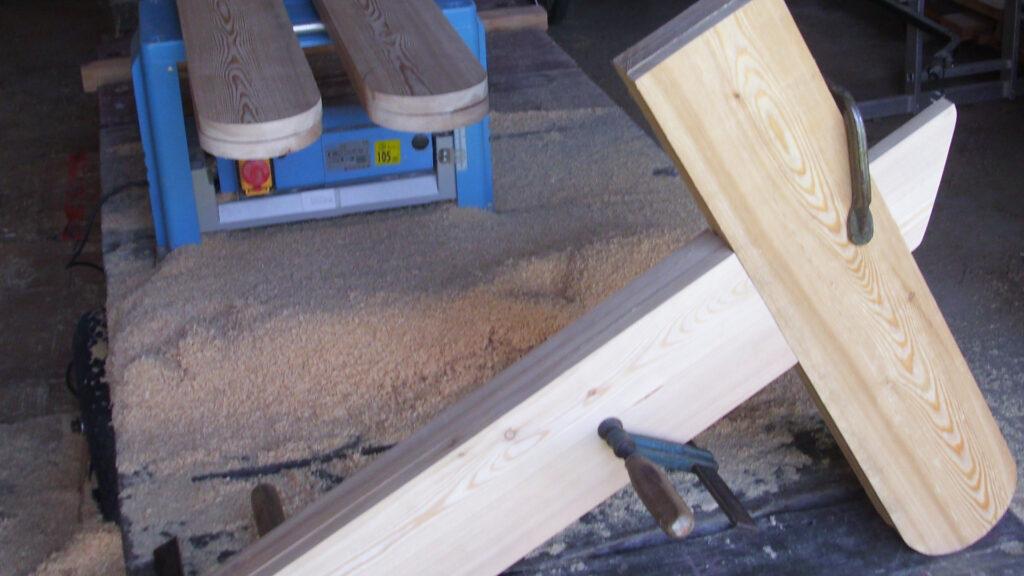 Lastenrad | Rahmen im Rohbau
