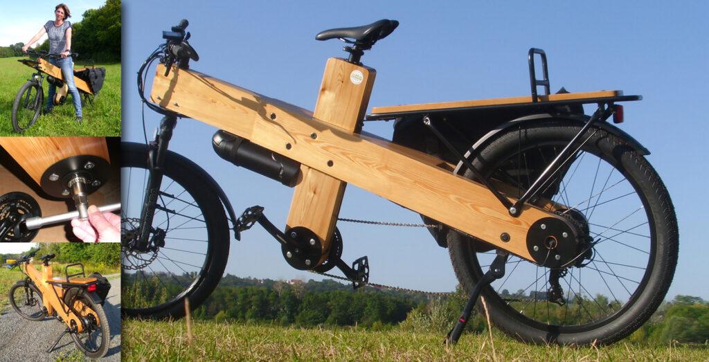Der Xiongda 2-Gang Lastenrad Elektro-Heckmotor