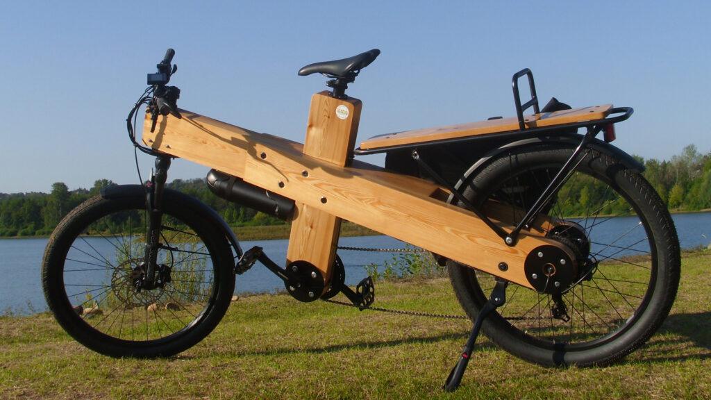 Woodi E-Bike Holz-Rahmen