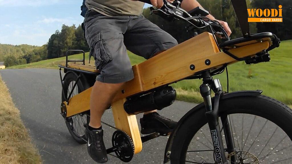Bauanleitung Fahrrad Holz cargo ebike diy selber bauen