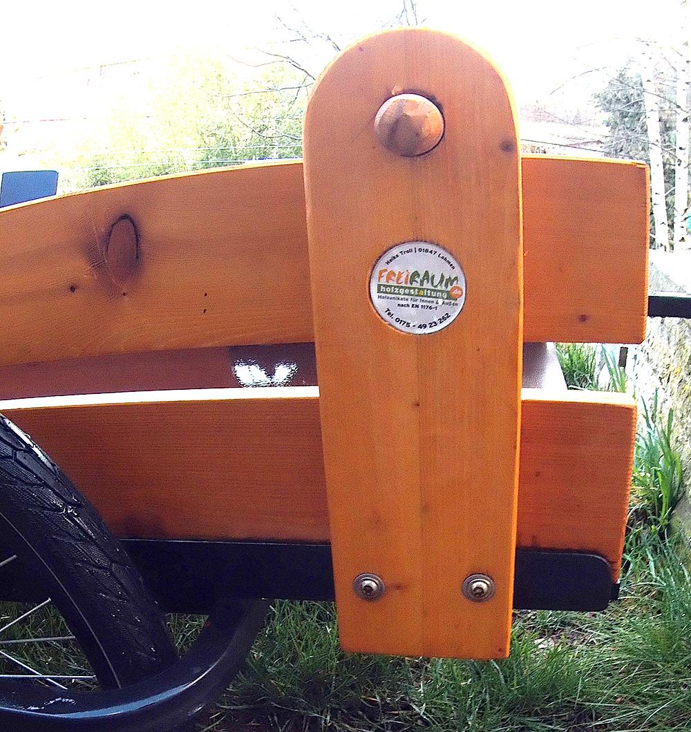 Detail schwerlast-fahrradanhaenger-trailer